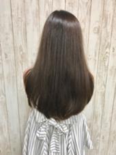 ロングスタイルに暗めのアッシュカラー hair Grace  Daisy所属・GraceDaisyのスタイル