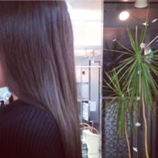 イルミナカラー    ダークグレージュです❤  写真では、分かりにくいですが、髪はすごくツヤツヤです! ヘアースタジオedge松井山手店所属・植野綾太のスタイル