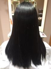 黒染め  1色染め/ワンメイク MODE K's豊中店所属・西殿奈央のスタイル