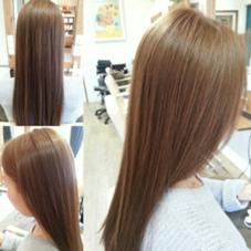 カラー+生トリートメント(別店舗での撮影) Hair Garden 葉庭 所属・原田勇希のスタイル