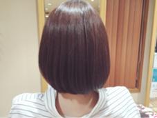 艶ぼぶ hair and make NEU所属・はまわきまりなのスタイル