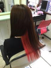 マニパニ*インナーカラー hair space COCO練馬店所属・前田由菜のスタイル