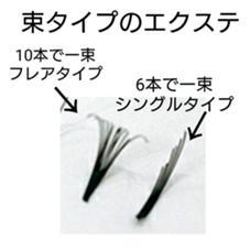 束タイプのエクステです○ 藤井優花のフォト