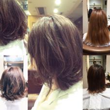 切りっぱなし✖️コテ✖️ナチュラルムーブ HONDA PREMIER HAIR所属・かわさきともやのスタイル