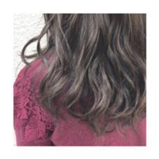 grey ✖︎ purple KENJE平塚LUSCA所属・柏山理央菜のスタイル