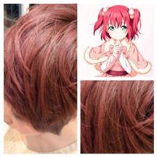 2.5Dアニメーションカラー٩(๑❛ᴗ❛๑)۶『ラブライブ!サンシャイン黒澤ルビィ』ピンクパール M.TAKASHIのスタイル