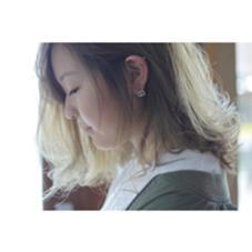 透明感のあるマットベージュ!!! agree for hair所属・加納陸のスタイル