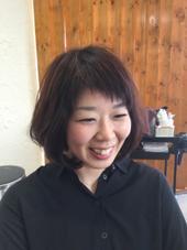 簡単ボブの斜めバング joule south新宿南口店所属・平一裕(タイラカズヒロのスタイル