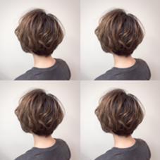 ショートグラ❤︎ hair  MIssion Rodeo所属・亀村彰良のスタイル