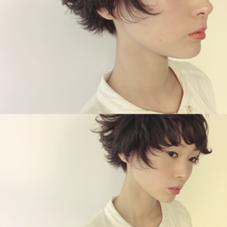スタイル撮影 外ハネミックス SALON DE JOE所属・金子富士のスタイル