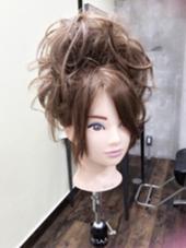 よさこい・お祭りヘアセット 派手セット❤️ garbohair所属・濱田鈴奈のスタイル