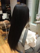 長い髪の毛を縮毛矯正しました! セピアージュ アン所属・斉藤優太のスタイル