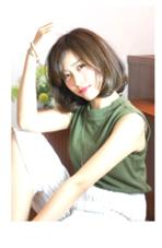 ナチュラルボブ✨  毛先にワンカールのパーマをかけ、まとまりやすくお手入れが簡単です。  髪質に合わせたカット、パーマが得意です☆  ご予約お待ちしてます(^_^) オフザ リップ オーシャン所属・天野伸也のスタイル