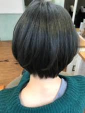 hair art chiffon所属・大山真矢のスタイル