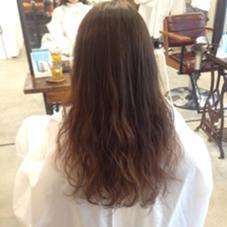 スタイリング楽ちん♪ 髪のダメージも最小限のトリートメントパーマ♪ リー代官山所属・千田泰樹のスタイル