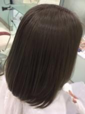 after イルミナカラー(オーシャン) HAIR&MAKE EARTH  高田馬場所属・#EARTH高田馬場アースタカダババのスタイル