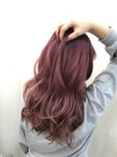 ヴァイオレットピンク♥️ Beee  hair salon所属・山森伴利代表のスタイル