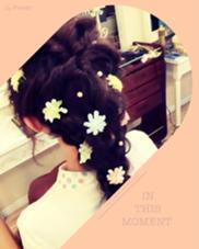 卒業式ラプンツェルセット☆ hair&make chouchou所属・米澤澄絵のスタイル