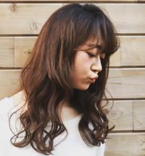 ゆるっとふわっと ROUNGE hair所属・千葉彩乃のスタイル