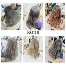 ✨透明感溢れるすっけすけカラー✨もあります♪ Kona大名所属・外国人風といえば、ハナオカ キョウスケのスタイル