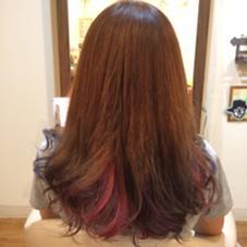 ブリーチ・マニキュア・カラフル・ベースアッシュ ROOP HairDesign所属・ROOPROOPのスタイル