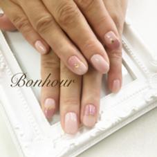キャンペーンネイル 5500円 ◆カラー変更可能 Nail&Eyelash Bonhour所属・ボヌールBonhourのフォト
