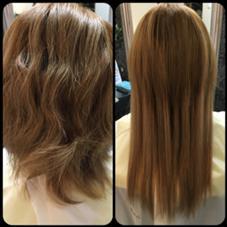 ✳︎エクステ40本 ✳︎半分折り Hair Grande Seeek所属・佐藤真由のスタイル