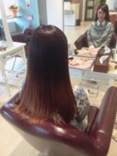 ナチュラルグラデーションカラー Agu hair lutella所属・Agu_hairlutellaのスタイル