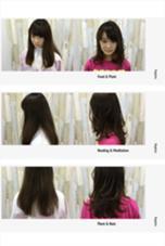 軽さを出したい!となったときは軽さは量を取るだけではなく動く毛を作ってあげるのも一つの方法です^ ^ 森将馬のスタイル