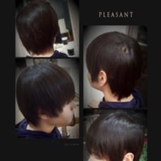 縮毛矯正で癖を伸ばして自然な髪型に 仕上げました! KAMI-YU所属・有林七海のスタイル