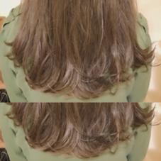 ランダムに入れたハイライトが際立つ 外国人風カラー✨  この冬も髪色可愛く過ごしましょう☺️ CANAAN所属・前田敬太のスタイル