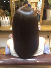 ブリーチ毛からのトーンダウンです! ROULAND所属・石川大輔のスタイル