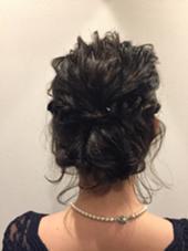 結婚式のset hair!!  set料金  ¥2600 La  fith heir pur所属・大石ななえのスタイル