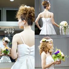 ウエディングドレスのお支度もできます! Roquat    Salon所属・神崎麻美のスタイル
