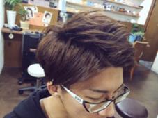 イケてるメンズカット☆ 短かすぎず、長すぎず  アップバングで暑い夏でも快適なスタイルです ing's hair所属・生水貴行のスタイル
