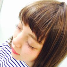 カーキブラウンにピンクメイクで夏らしく♡  HACO所属・コジマカナのスタイル