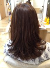 ベーシックフォワード巻き Hair Make Ash所属・大山晃介のスタイル