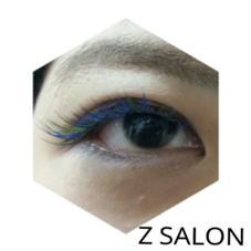 ◎プレミアム付け放題 ブラック×ブラウン×ブルー×グリーン Z SALON所属・水谷早耶のフォト