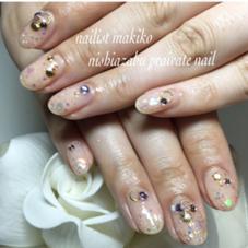 シェルとホロの夏ネイル nishiazabu private nail所属・nailartistmakikoのフォト