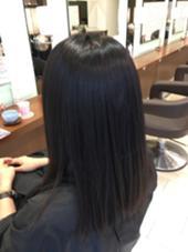 縮毛矯正&カラー B-Line所属・マツザキシオリのスタイル