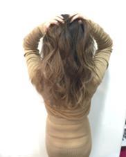 外国人風グラデーションカラー hair resort sunny所属・米澤杏のスタイル