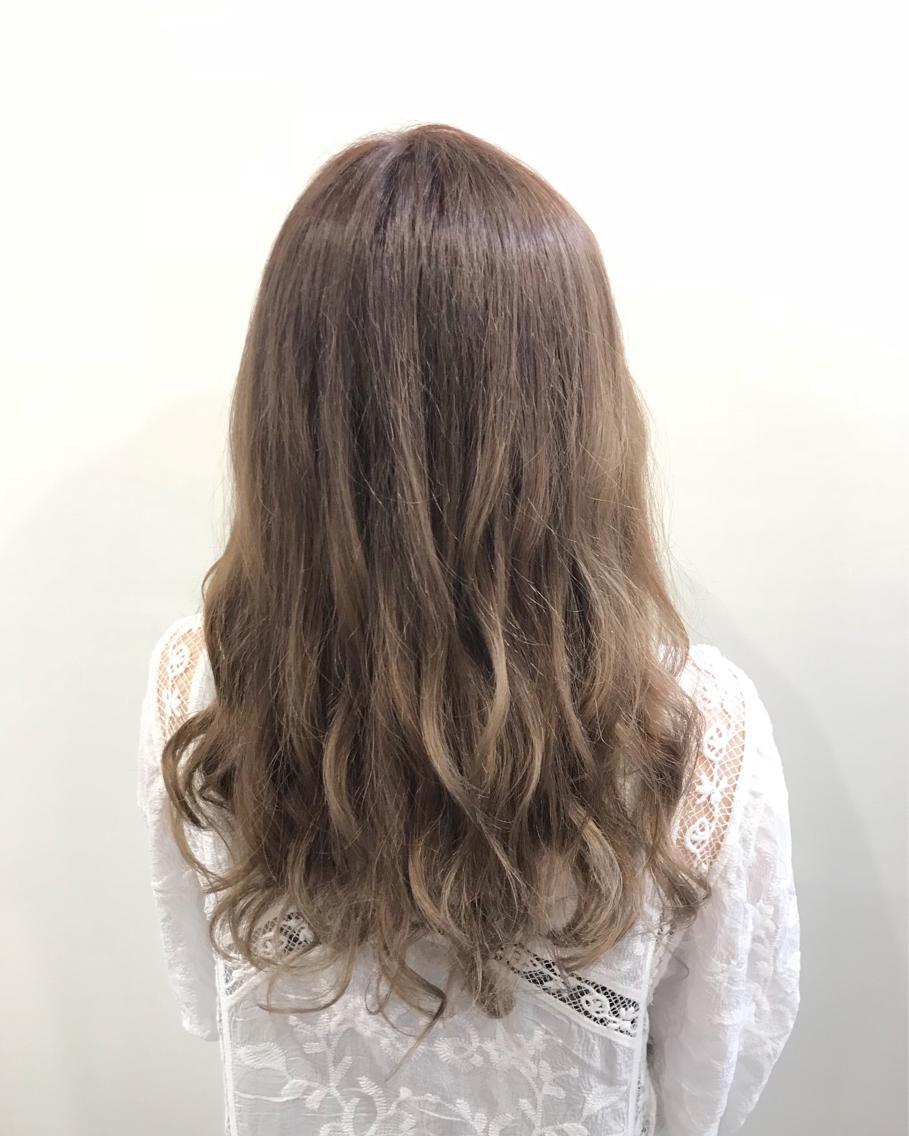 #セミロング #カラー 髪の色こだわりもって作ってます! 髪の状態がどんなのでも、相談してください!!