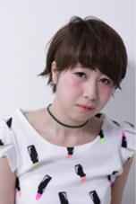 サロンスタイル撮影講習にて キュートなショート♡ Hair&Make HUG所属・前野由香のスタイル