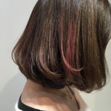 #ミックスカラー #pink Glory+plus(グローリープラス)所属・原口裕加里のスタイル