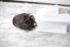 撮影時の一枚ですねっ! 少し巻くだけでグッと柔らかさが出ます hair make Ash所属・佐藤光輝のスタイル