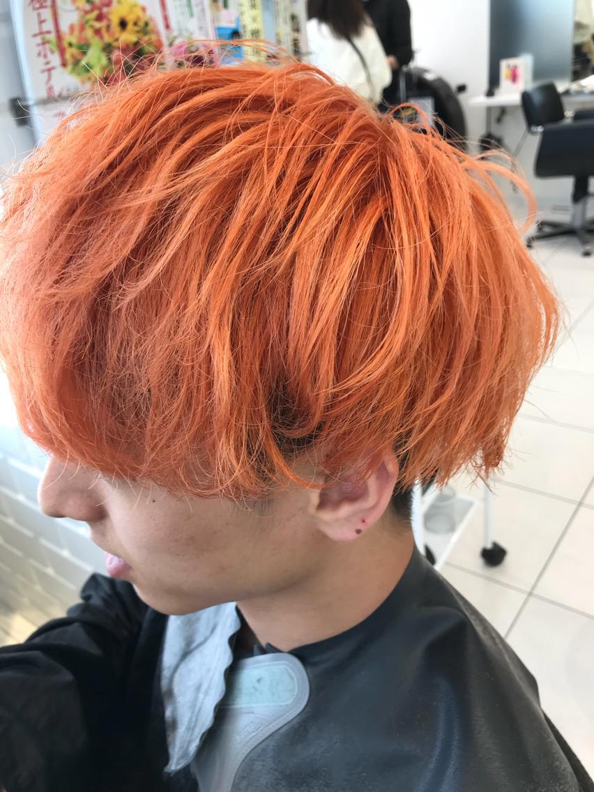 #カラー オレンジ