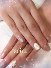 上品ネイル♡ ecia[エシア]所属・上片野美和のフォト