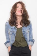 3Dオーシャングレージュとラフなウェーブでワンランク上のカジュアルロブ☆髪質によってはブリーチをかけた方が綺麗に染まります♪ onebyoneCLACCA所属・瀧田喬のスタイル