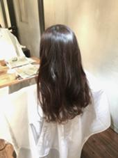 暗髪、アッシュ、モーブ BLESS所属・野中健太朗のスタイル