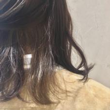 インナーカラー アッシュ系/グレー系 RISA hair design所属・半田結衣子のスタイル